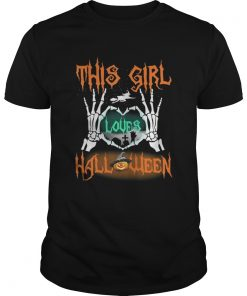 Guys This girl loves Halloween shirt