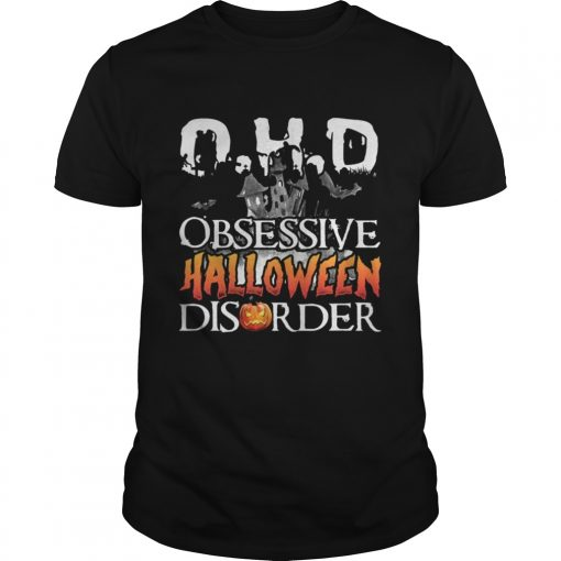 The DHO Obsessive Halloween Disorder t-shirt