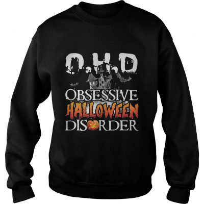 The DHO Obsessive Halloween Disorder Ladies tee