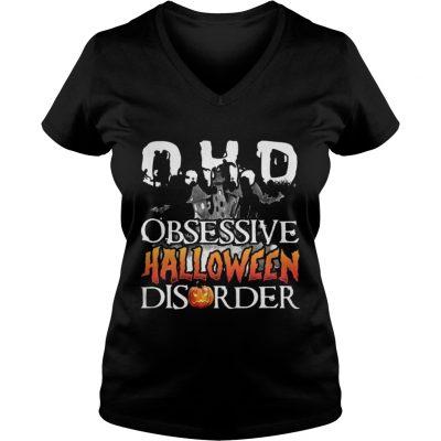 The DHO Obsessive Halloween Disorder V-neck