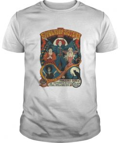 Guys  Hocus Pocus Sanderson Sisters Live Billy Butcherson Thackery Binx all Hallow's Eve shirt