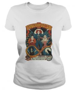 Ladies Tee Hocus Pocus Sanderson Sisters Live Billy Butcherson Thackery Binx all Hallow's Eve shirt