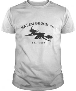 Halloween Salem Broom Co Est 1692 shirt  Shirt