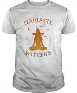 Halloween Namaste Witches Guys Shirt