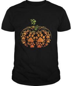 Guys Pumpkin Dog Halloween shirt