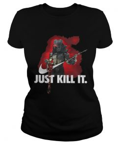 Ladies Tee The Predator Just kill it shirt
