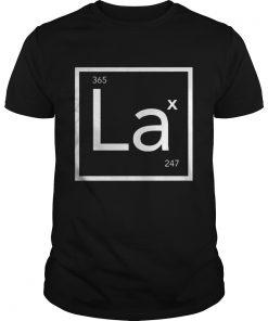 GuysLacrosse Periodic Element LAX 247 365 shirt