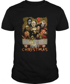 Michael Jason Freddy Halloween is my Christmas shirt