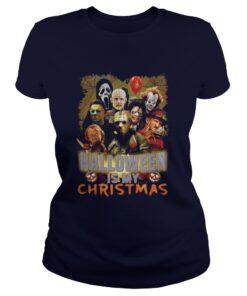 Michael Jason Freddy Halloween is my Christmas shirt
