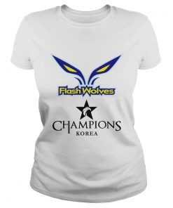 The Championship Lol Esports 2018 Flash Wolves Ladies Tee