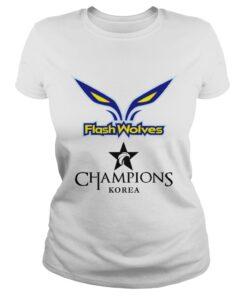 The Championship Lol Esports 2018 Flash Wolves Ladies Tee