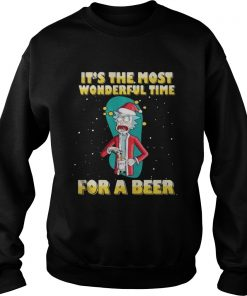 Sweater Rick and Morty It's the most wonderful time for a beer shirt