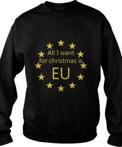 Sweater All I want for Christmas is EU shirt