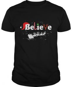 Guys Believe in Santa Claus Christmas shirt
