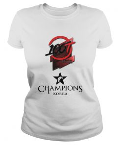Ladies Tee The Championship Lol Esports 2018 100 Thieves Shirt