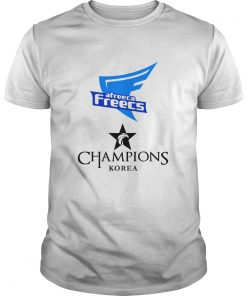 Guys The Championship Lol Esports 2018 Afreeca Freecs Shirt