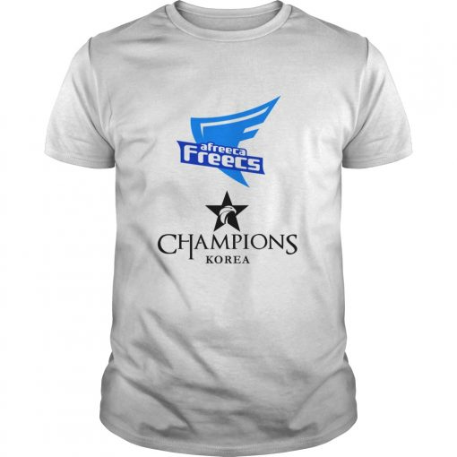 Guys The Championship Lol Esports 2018 Afreeca Freecs Shirt