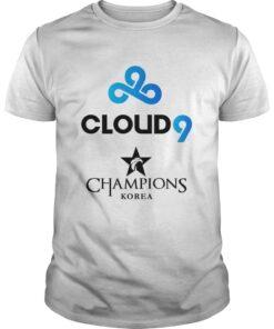 Guys The Championship Lol Esports 2018 Cloud9 Shirt