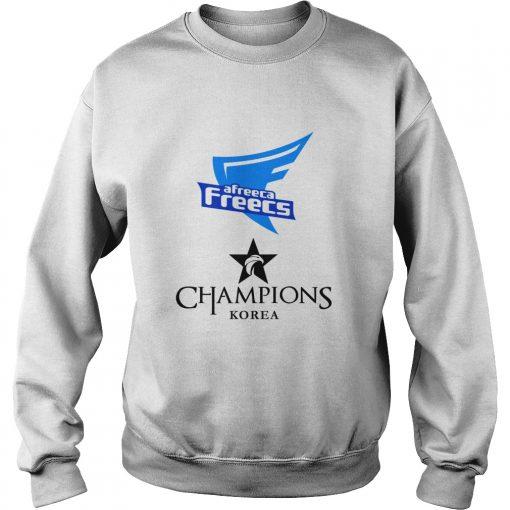 Sweater The Championship Lol Esports 2018 Afreeca Freecs Shirt