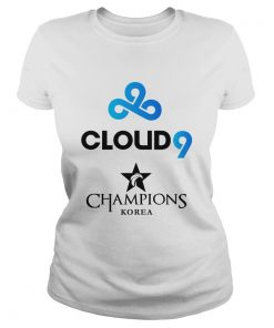 Ladies Tee The Championship Lol Esports 2018 Cloud9 Shirt