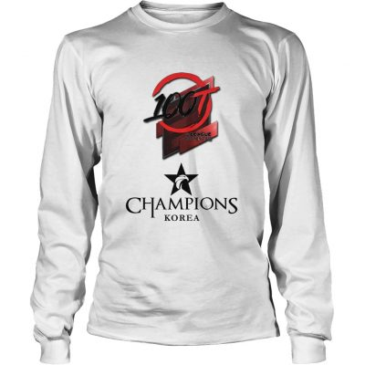 Long Sleeve The Championship Lol Esports 2018 100 Thieves Shirt