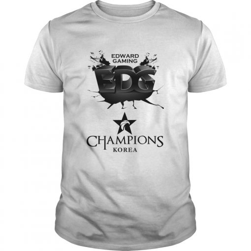 Guys The Championship Lol Esports 2018 Edward Gaming Shirt