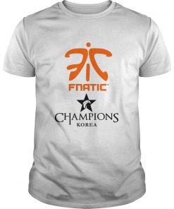 Guys The Championship Lol Esports 2018 Fnatic Shirt
