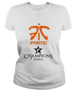 Ladies Tee The Championship Lol Esports 2018 Fnatic Shirt