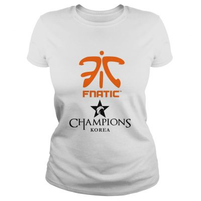Ladies Tee The Championship Lol Esports 2018 Fnatic Shirt