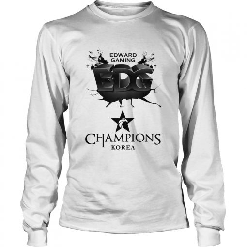 Long Sleeve The Championship Lol Esports 2018 Edward Gaming Shirt