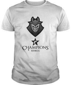 Guys The Championship Lol Esports 2018 G2 Esports Shirt