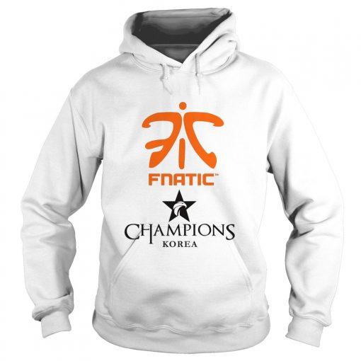 Hoodie The Championship Lol Esports 2018 Fnatic Shirt