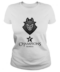 Ladies Tee The Championship Lol Esports 2018 G2 Esports Shirt