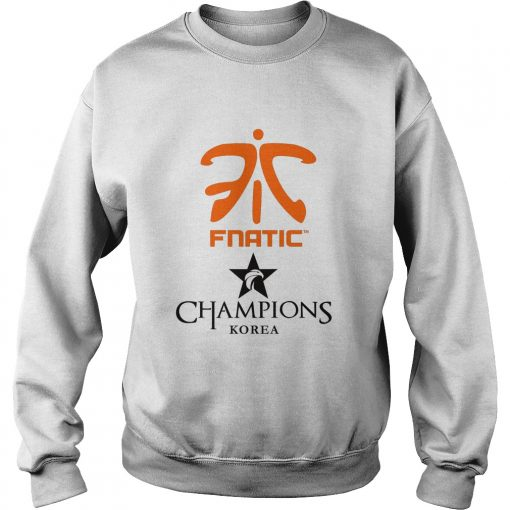 Sweater The Championship Lol Esports 2018 Fnatic Shirt