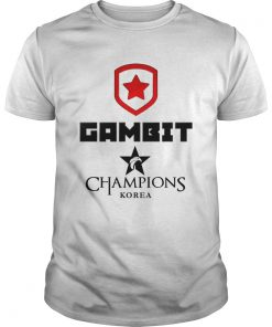 Guys The Championship Lol Esports 2018 Gambit Esports Shirt