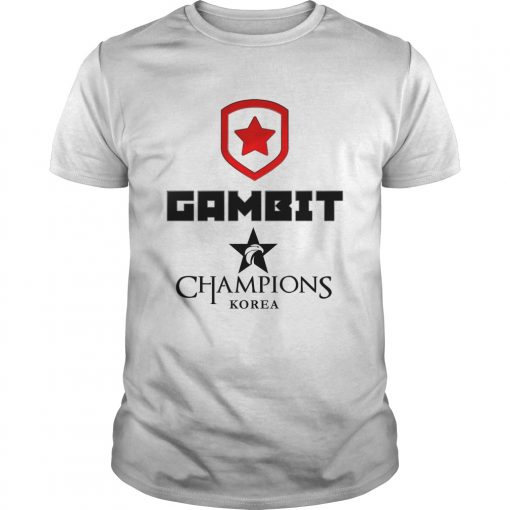 Guys The Championship Lol Esports 2018 Gambit Esports Shirt