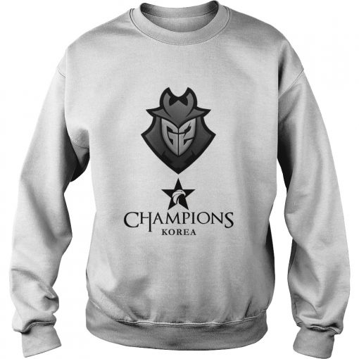 Sweat The Championship Lol Esports 2018 G2 Esports Shirt