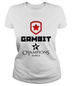 Ladies Tee The Championship Lol Esports 2018 Gambit Esports Shirt