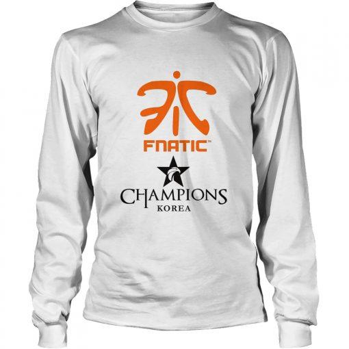 Long Sleeve The Championship Lol Esports 2018 Fnatic Shirt