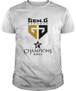 Guys The Championship Lol Esports 2018 Gen.G Shirt