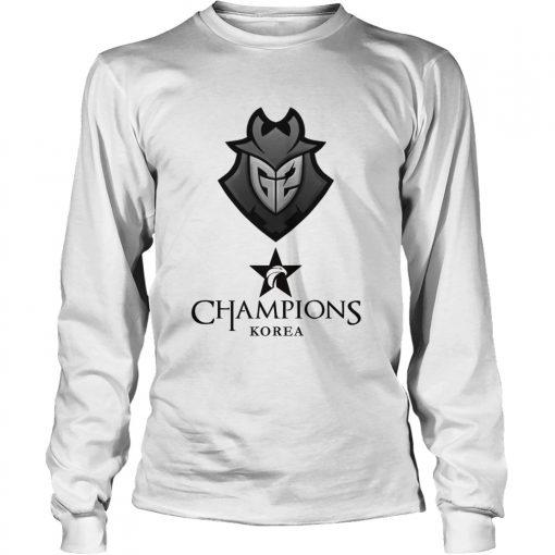 Long Sleeve The Championship Lol Esports 2018 G2 Esports Shirt