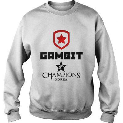 Sweat The Championship Lol Esports 2018 Gambit Esports Shirt