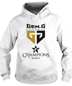 Hoodie The Championship Lol Esports 2018 Gen.G Shirt