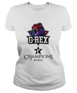 Ladies Tee The Championship Lol Esports 2018 G-Rex Shirt