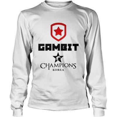 Long Sleeve The Championship Lol Esports 2018 Gambit Esports Shirt
