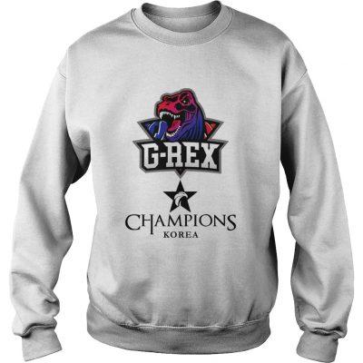 Sweat The Championship Lol Esports 2018 G-Rex Shirt