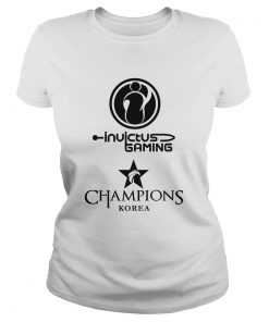 Ladies Tee The Championship Lol Esports 2018 Invictus Gaming Shirt