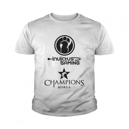 Youth Tee The Championship Lol Esports 2018 Invictus Gaming Shirt