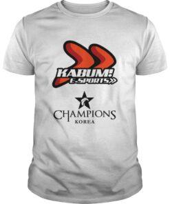 Guys The Championship Lol Esports 2018 KaBuM! e-Sports Shirt