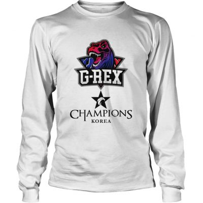 Long Sleeve The Championship Lol Esports 2018 G-Rex Shirt